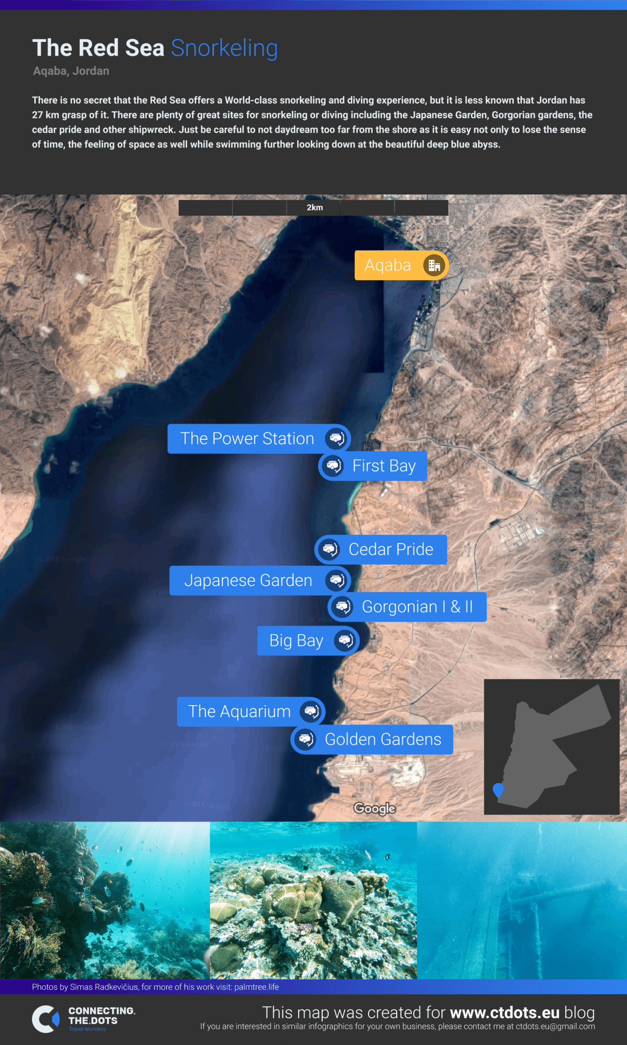 WorldClass Snorkeling Guide in the Red Sea near Aqaba