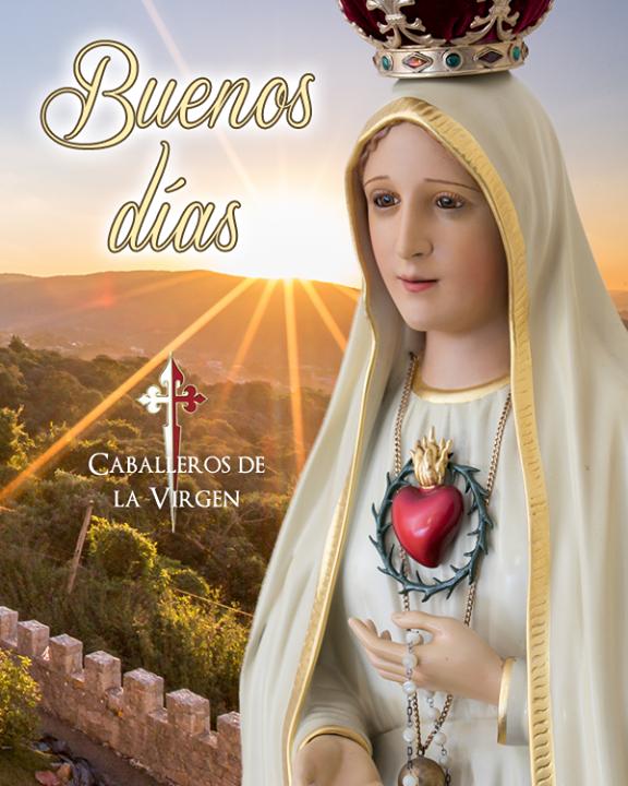 Buenos Días Oh María Santísima E Inmaculada Madre De Dios Me Presento Ante Ti Que Eres Mediadora De Toda Gracia Tu Que Virgen Caballeros Bendiciones Para Ti
