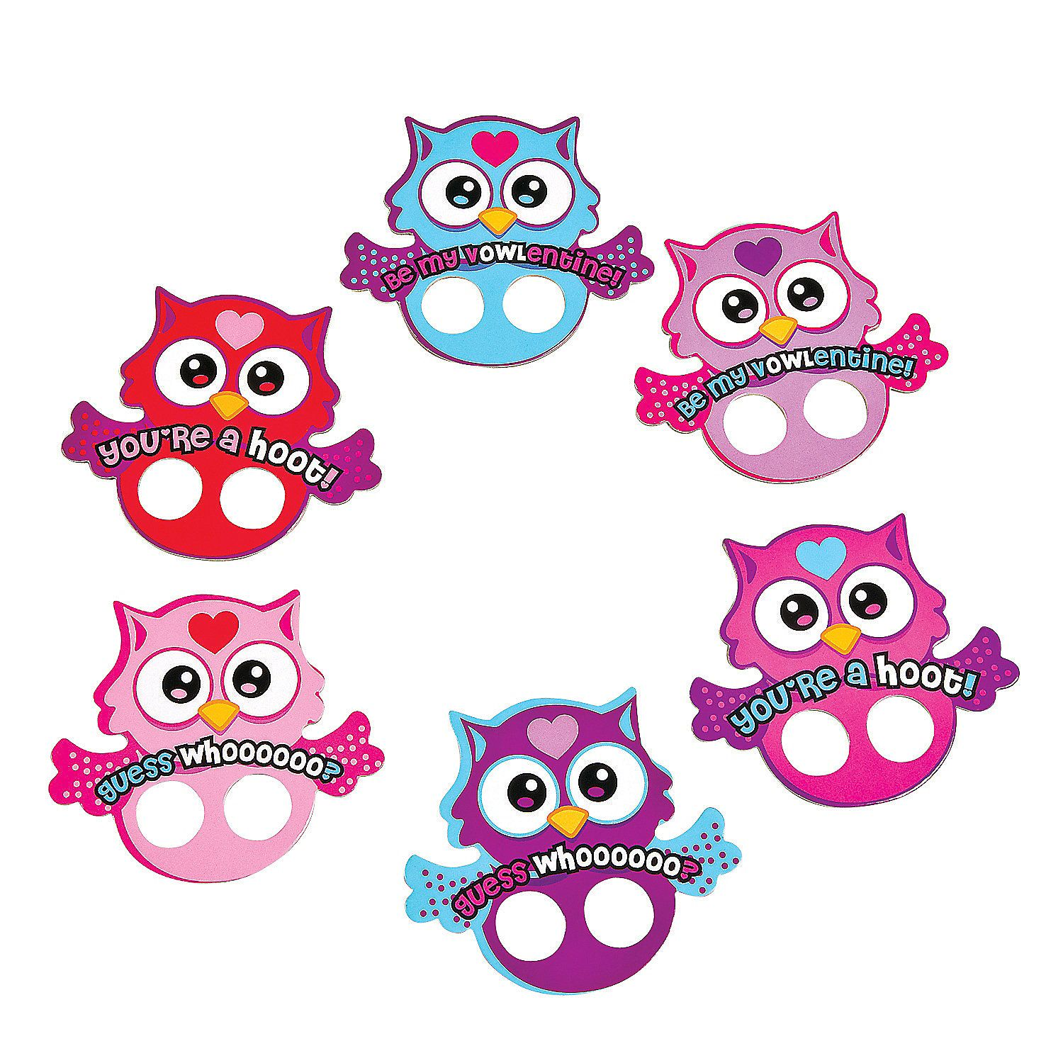 Owl Valentine Finger Puppets - OrientalTrading.com Sunnys class