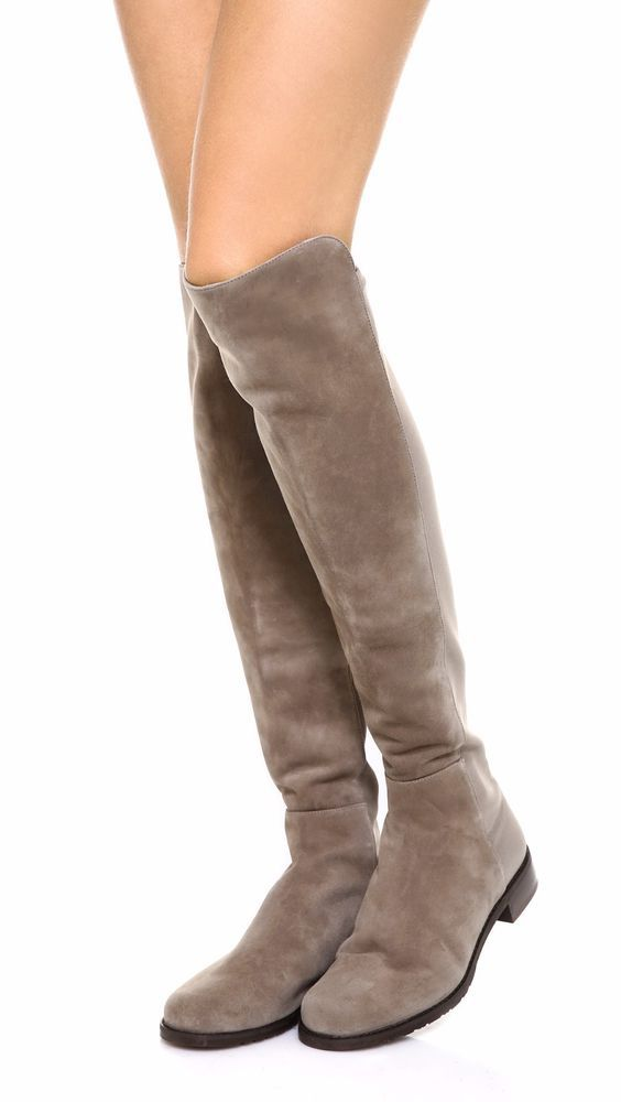 ff528026a1e Stuart Weitzman 5050 Over The Knee Boot Topo Suede Size 8 5