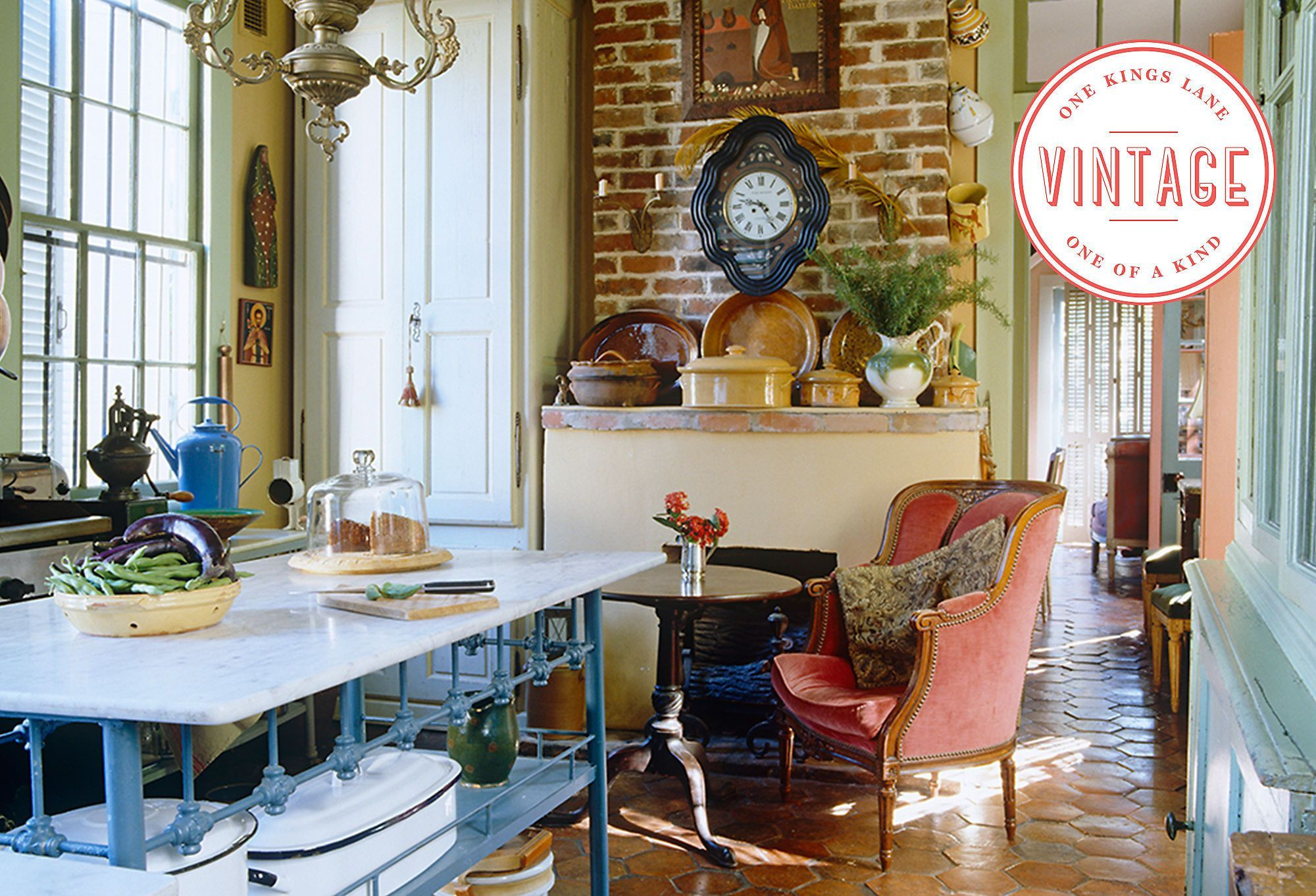 Old-Time Charm: Vintage Finds for the Kitchen
