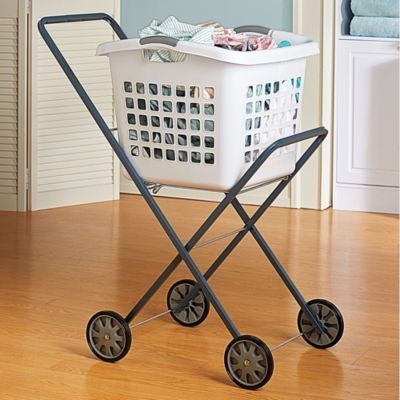 Laundry Trolley Laundry Cart Home Improvement Projects Rolling