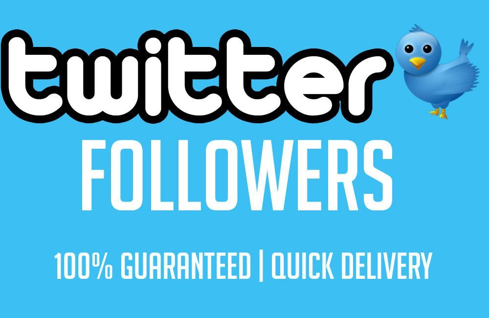 thesocialdude: add 8000 Twitter Followers in 48h for $5, on fiverr