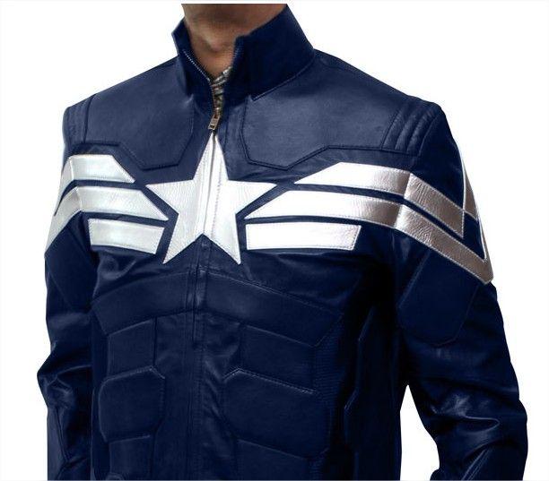 Captain America Winter Soldier Jacket #Geek