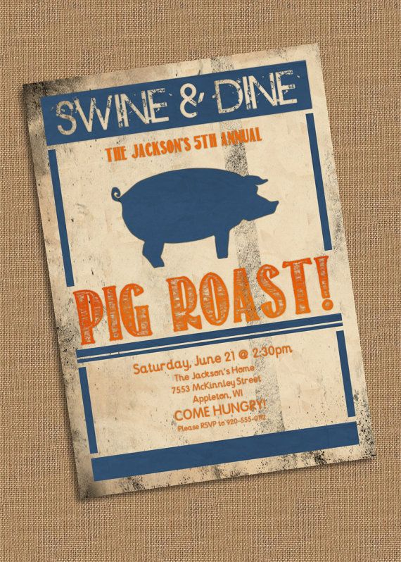 Pig roast party invitation by lklaflen on etsy 1600 my etsy pig roast party invitation by lklaflen on etsy 1600 stopboris Images