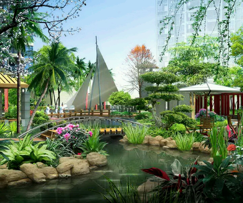 New home garden  Modern homes gardens designs  GARDENS  Pinterest  Gardens Garden