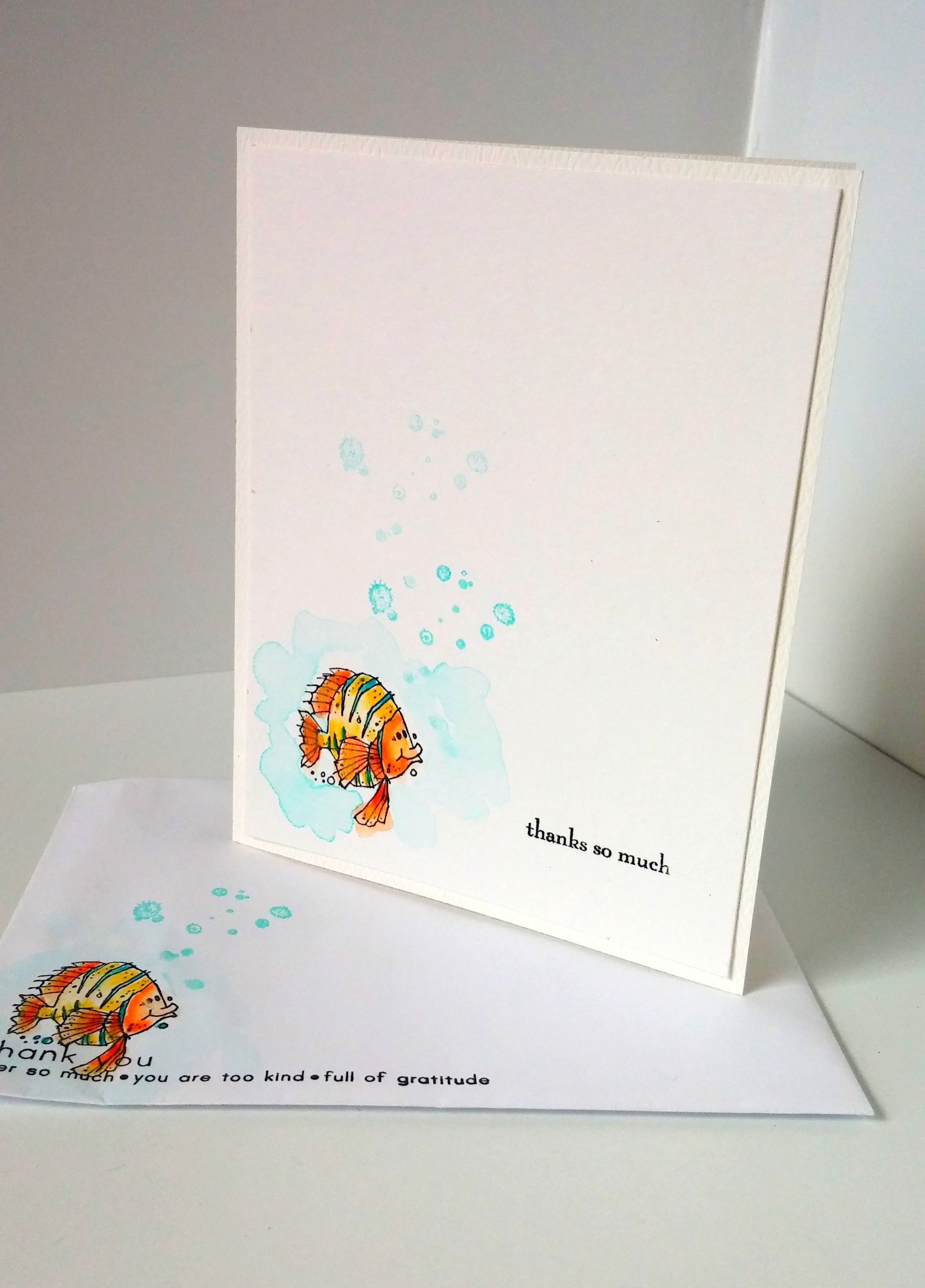 Stampin Up Fishy Friends Stampin up cards, Kids birthday