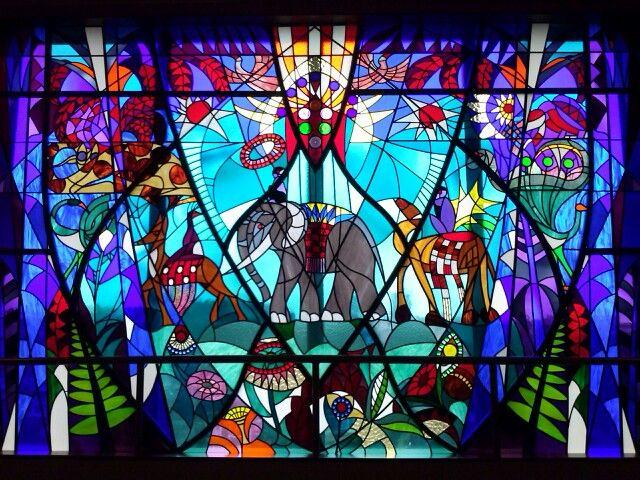 Glas Den Haag.Prachtig Glas In Lood Bijenkorf Den Haag Oh Oh Den Haag