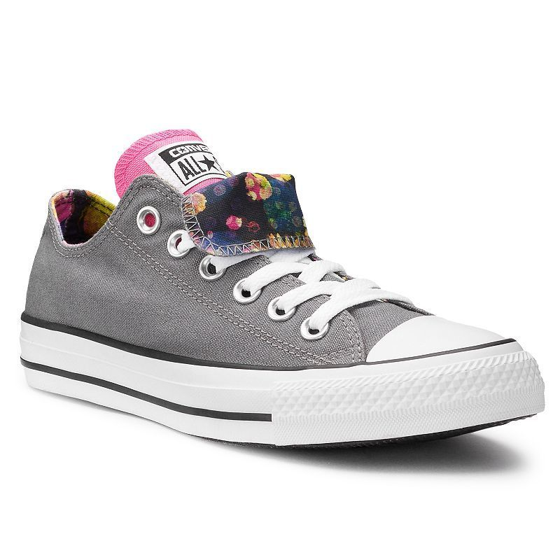 18e80d032013fd Women s Converse Chuck Taylor All Star Double Tongue Floral Sneakers ...