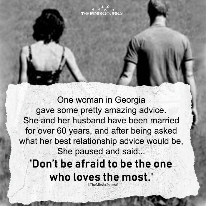 One Woman In Georgia Gave Some Pretty Amazing Advice One Woman In Georgia Gave Some Pretty Amazing Advice