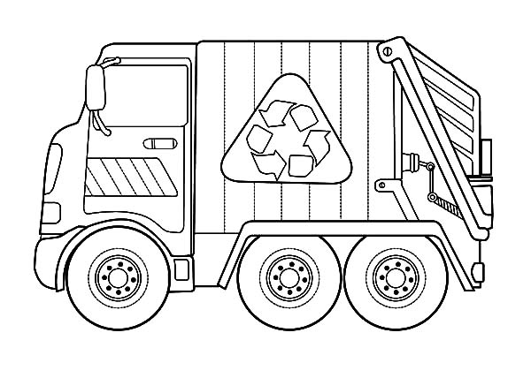 Transportation Garbage Truck Coloring Pages - Download & Print Online Coloring  Pages … Truck Coloring Pages, Monster Truck Coloring Pages, Firetruck  Coloring Page