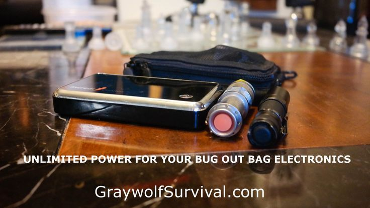 One bad thing about electronics: they need power. Things that supply power take up weight and space in your bug out bag. By choosing wisely, you can cut down on the size and weight of your power system and have almost unlimited power. - Almost unlimited power for your bug out bag items.   #Amazmerizing