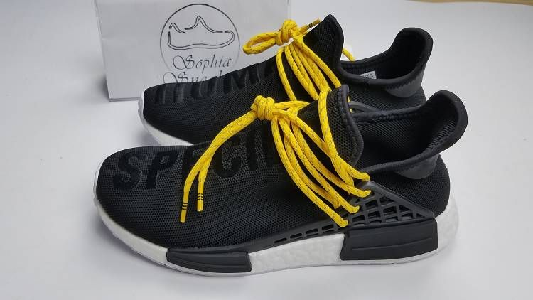 ee3e959cbb63 UA NMD PW Human Race Black Yellow White