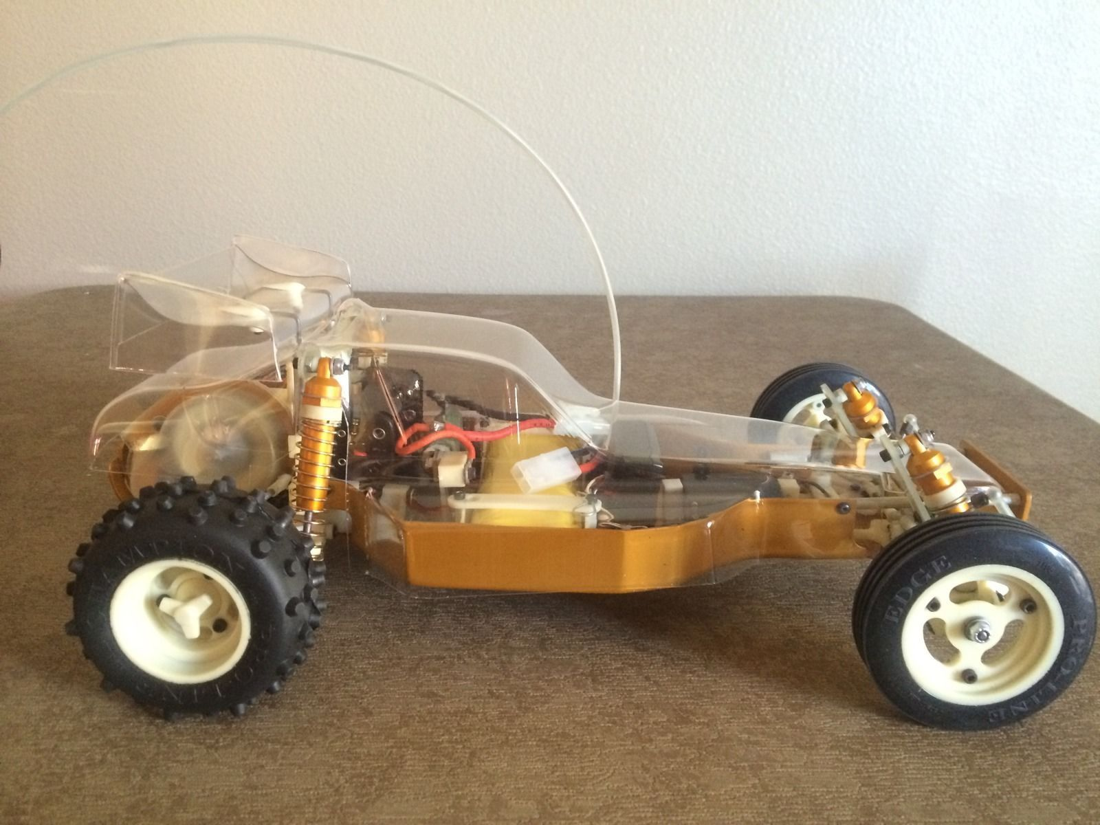 Original Team Associated RC10 6016 Gold Tub Classic Buggy not Reissue   eBay