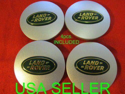 4 New Land Rover Wheel Center Caps Wheel Hub Center Set Cap Matte Green New Land Rover Land Rover Land Rover Freelander