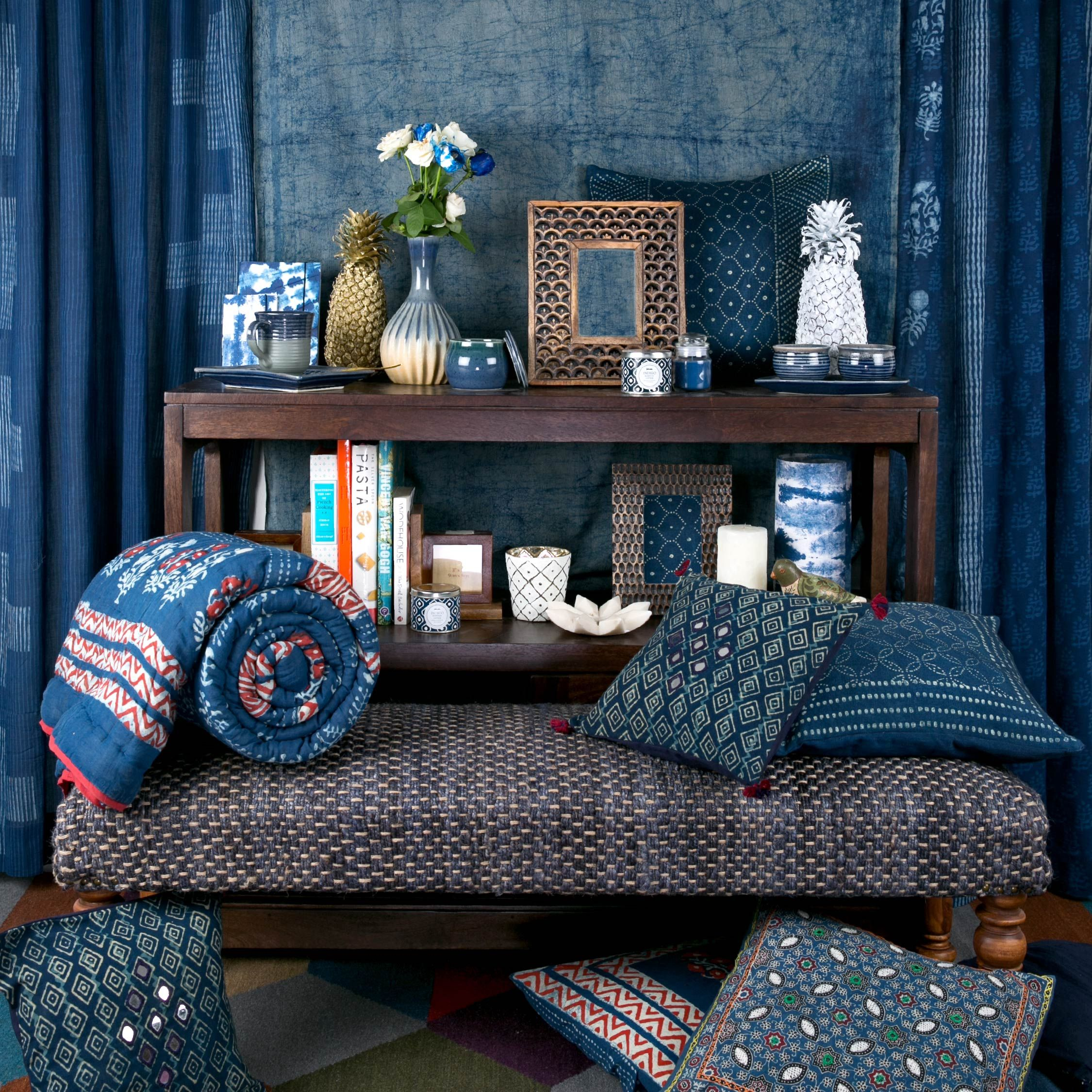 Sofa Upholstery Thrissur Indigo Home Lifestyle Cushions Quilts Bedlinen Accessories