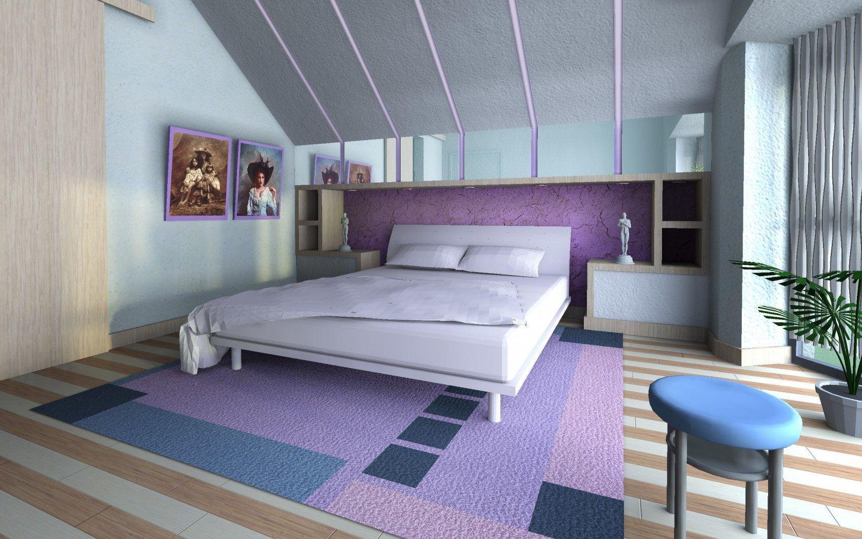 Интерьер, стиль, дизайн, дом, жилая комната, спальня обои ...