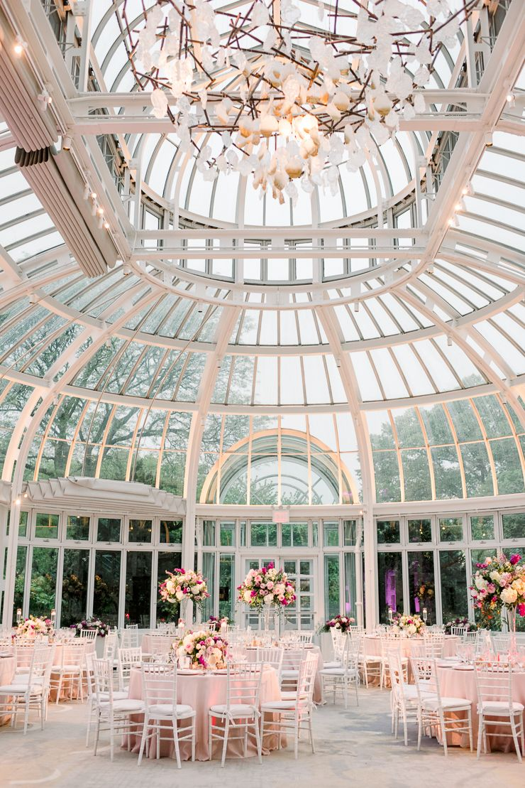 Brooklyn Botanic Gardens Wedding at The Palm House