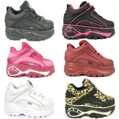 buffalo shoes in pink £95 | Buffalo shoes, Cute sneakers