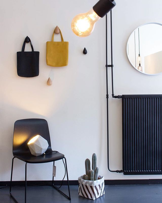 Schön Normann Copenhagen Drop It Hooks, Justchair. Menu World Norm Wall Mirror  Concrete Design