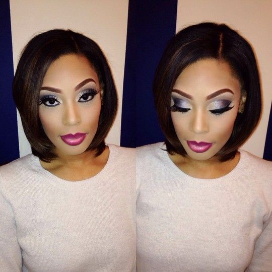 Makeup by Atlanta StyleSeat Professional Barkeia McBride // https://www.styleseat.com/barkeiamcbride #Atlanta #makeup #artist #styleseat