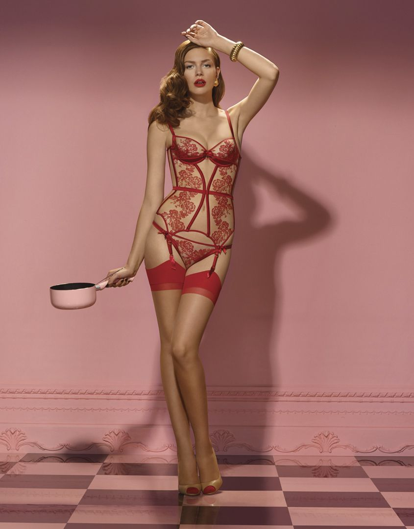 Mercy by agent provocateur gloria basque what lies - Combinaciones ropa interior femenina ...