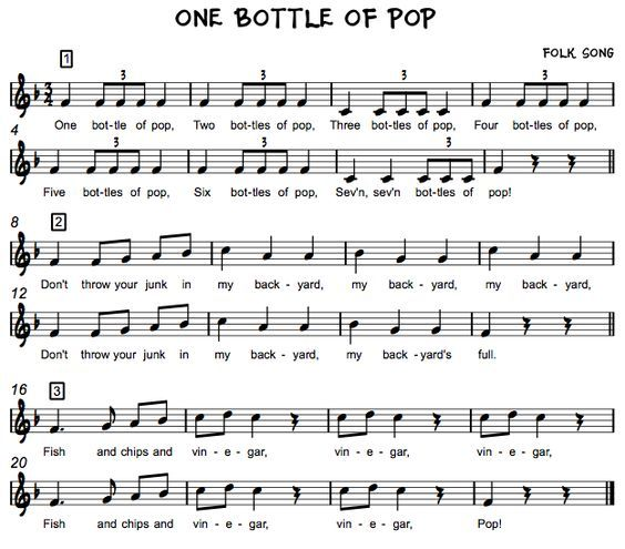 Beth S Music Notes One Bottle Of Pop Grade 4 Loves This One