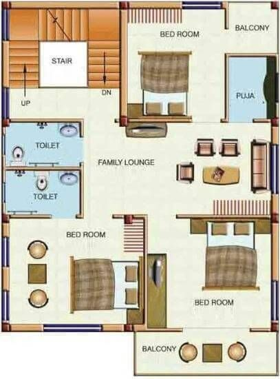 House Design Map Duplex Floor Plans | Indian Duplex House Design | Duplex House Map