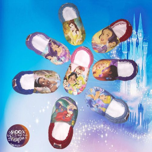 Buy Now Kiddo Kicks // Baby Booties in Disney Princess Classics...