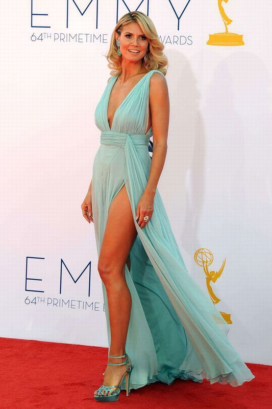 Heidi Klum Premios Emmy 2012