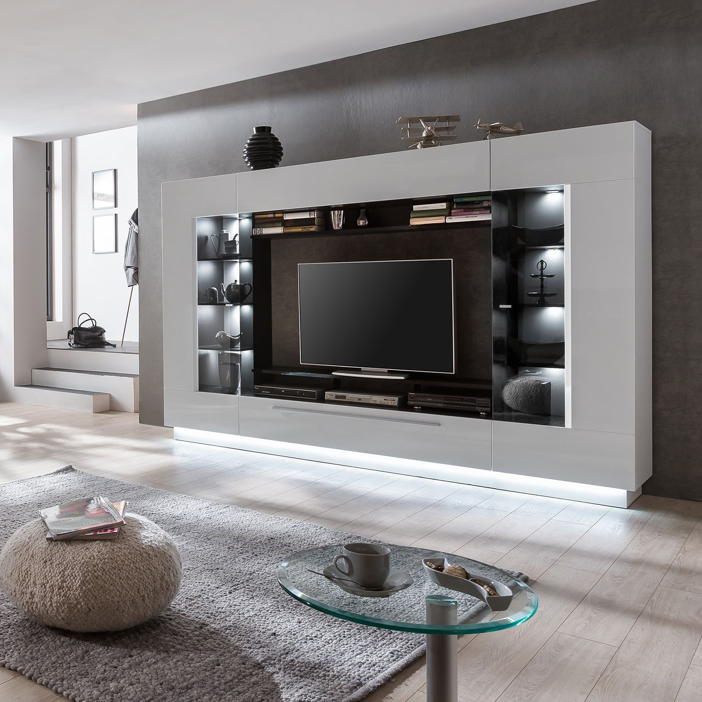 Ensemble Meubles Tv Bylas 4 Elements Achetez Vos Meubles En Ligne Sur Home24 Une Grande Selection De Ensemble Meuble Tv Mobilier De Salon Meuble Tv Design