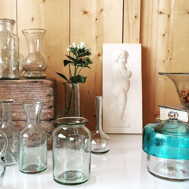 Glassware galore at our open showroom! Open now during Maison et - la maison de l artisan