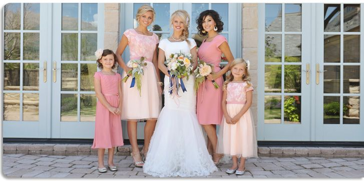 Mormon Bridesmaid Dresses - Dress Xy