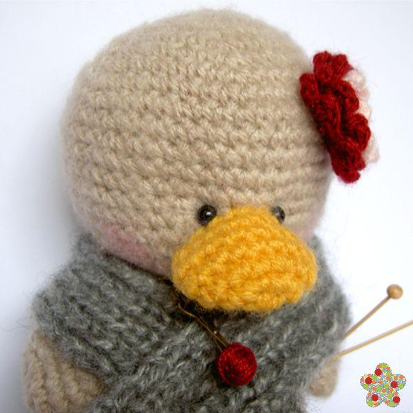 """""""Creación de Melma  http://gallimelma-creaciones.blogspot.com/"""" #Amigurumi  #crochet"""