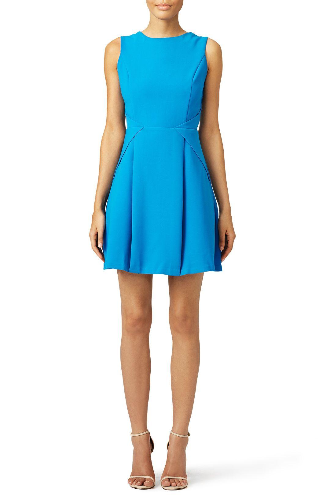 Blue Offshore Dress | Bright blue dresses, Blue dresses and ...