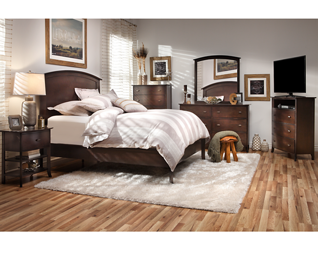 Spencer Panel Bedroom Group Furniture Row (With images