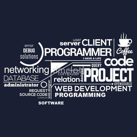 Programmer : Typography Programming   #programmer #programming #coder #coding #developer #webprogrammer #webdeveloper #redbubble #tshirt #typography