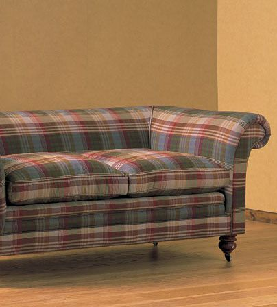 Sofa In Ancient Tartan Mulberry Mulberryhome Gpjbaker