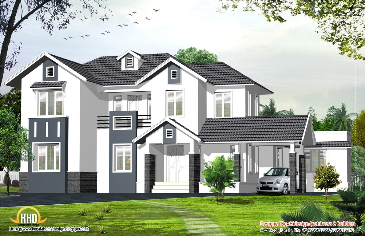 English Style House English Style Home Sq Ft Kerala Home English Style House English St Kerala House Design Modern House Floor Plans French Country House Plans