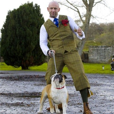Tweed Plus Fours and waistcoat