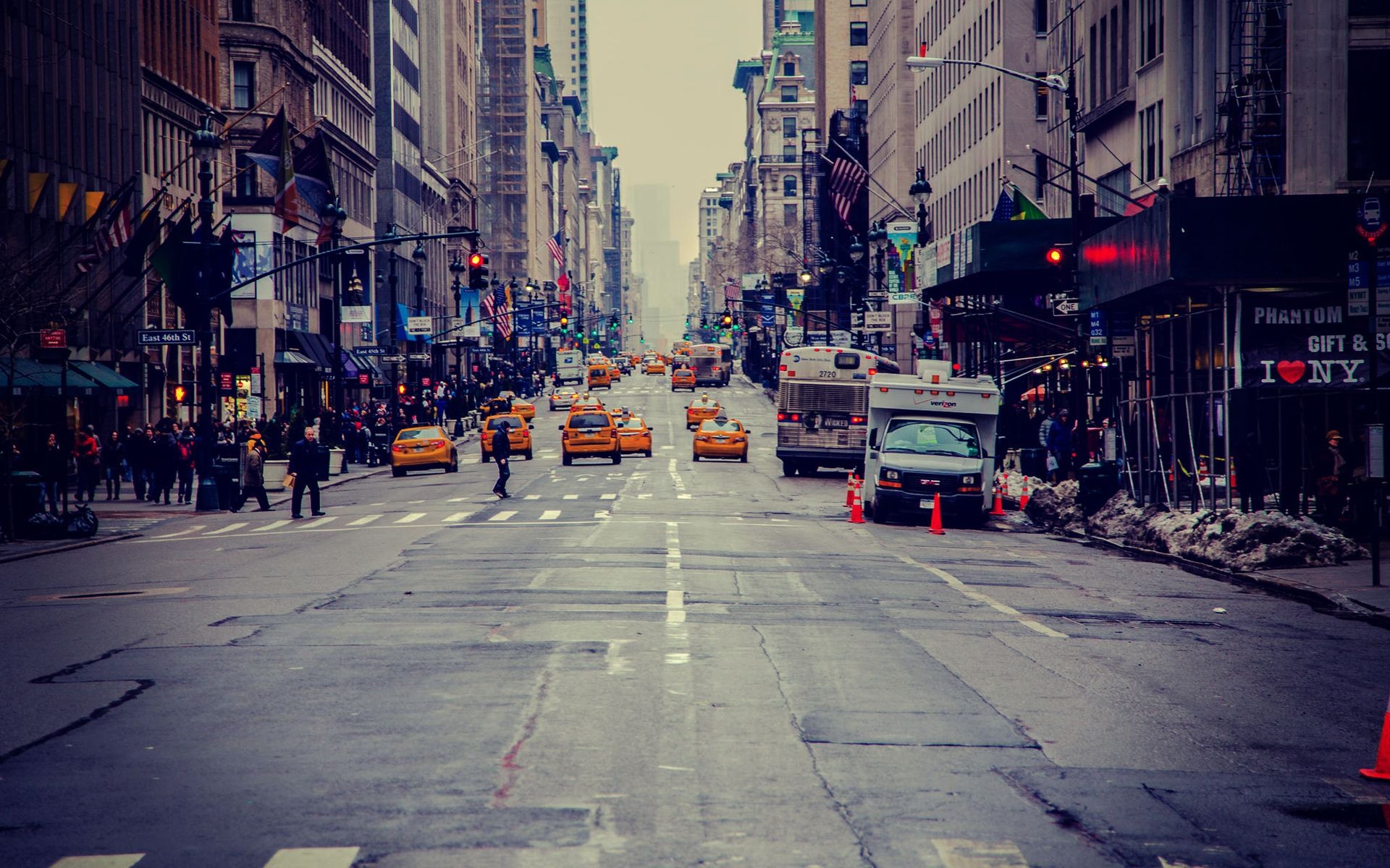 New York Street Wallpaper Mobile Usa Street Street Usa Cities