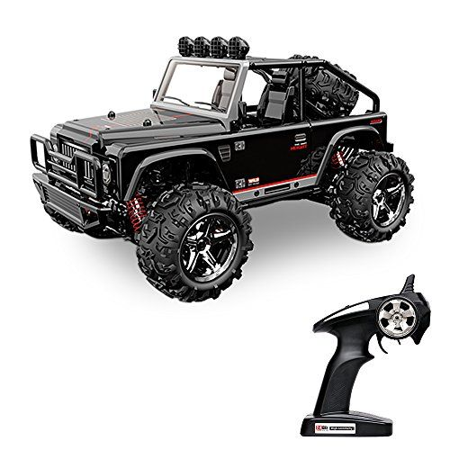 Hobby RC Crawlers - Vatos Remote Control Cars RC Cars Off Road High Speed 4WD 45kmh 122 Scale 50M Remote Control 24GHz Electric Vehicle Buggy RC Trucks with LED Night Vision VLBG1511AB Black >>> You can find out more details at the link of the image.