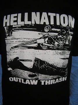 Hellnation - Outlaw Thrash hoodie