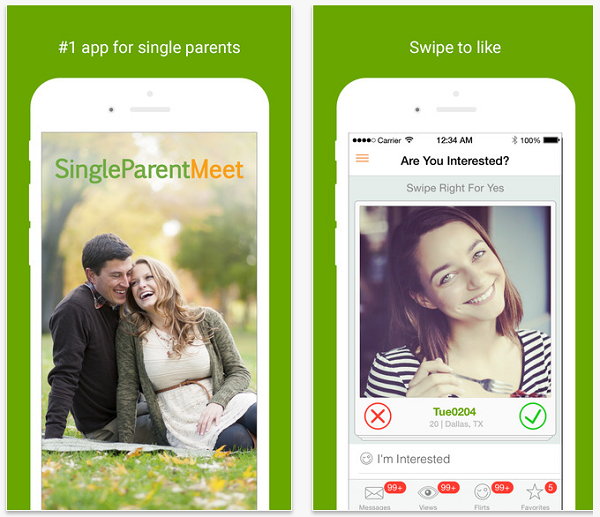 Dating app for single parents