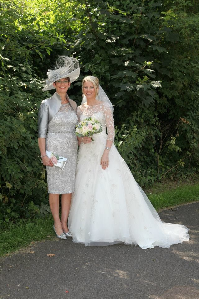 Grey Mother of the Bride