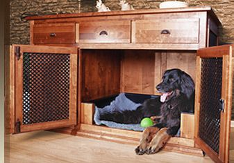 hundebox f r wohnbereich desmond hundebox hunde. Black Bedroom Furniture Sets. Home Design Ideas