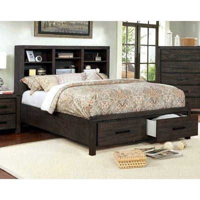 Canora Grey Rhoda Storage Platform Bed Platform Bed Upholstered