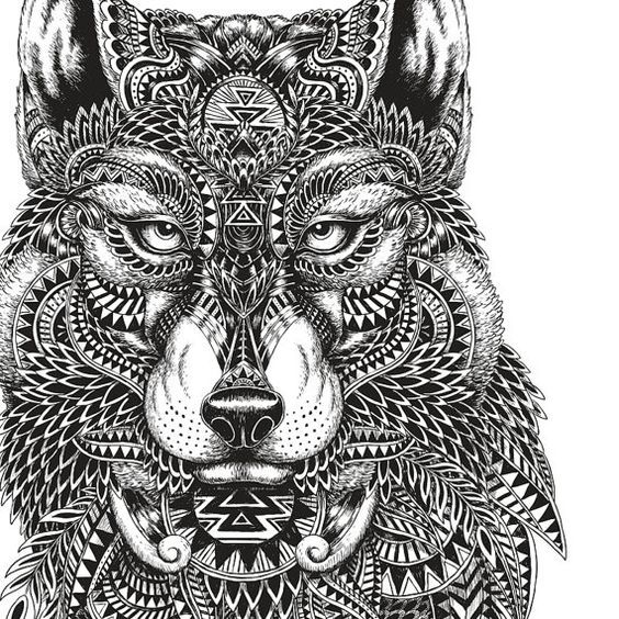 free wolf puppy coloring pages - photo#41
