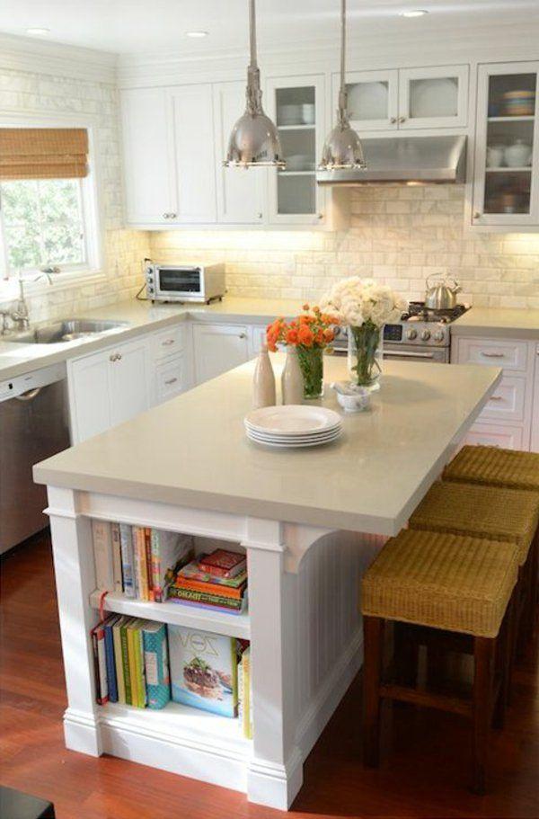 La Cuisine Avec îlot Central Idées De Décoration Et Design - Ilot cuisine pour manger pour idees de deco de cuisine