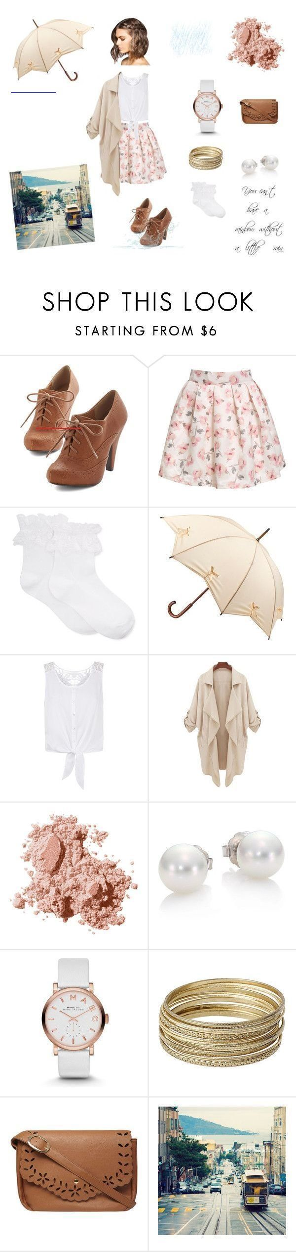 Cute outfit for a rainy summer day by canthelpit  liked on Polyvore featuri Base #rainydayoutfitforwork